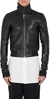 Rick Owens Men's Leather Bomber Jacket