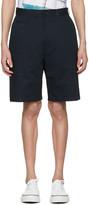 Junya Watanabe Navy Chino Shorts