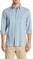 Gant Trim Fit Indigo Flannel Long Sleeve Shirt