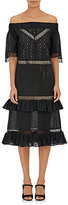 Prabal Gurung Women's Eyelet Off-The-Shoulder Dress