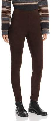 Max Mara Eros Lamb Leather Pants