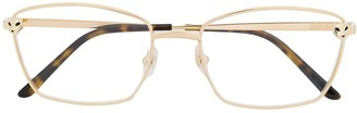 Cartier Logo Square Glasses