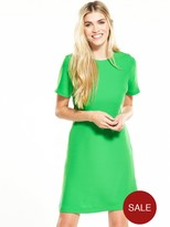 Warehouse Cross Back Dress - Green