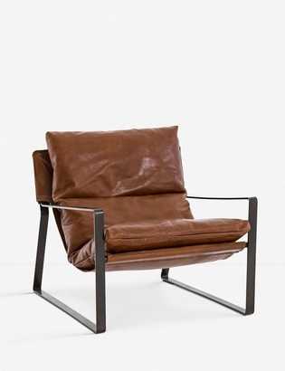 Lulu & Georgia Marlyne Leather Accent Chair