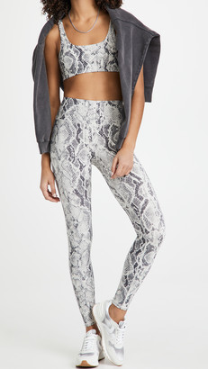 Alo Yoga High Waist Snakeskin Vapor Leggings