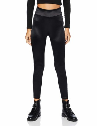 Urban Classics Women's Ladies Shiny High Waist Leggings