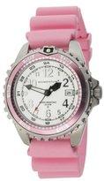 Momentum Women's 1M-DV11WR1R M1 Twist Pink Bezel Pink Silicone Rubber Watch