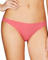 Stella McCartney Smooth & Lace Bikini Briefs, Azalea