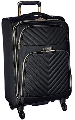 Kenneth Cole Reaction Chelsea Two-Piece Set (20 Carry-On Laptop Backpack) (Black Chevron) Luggage