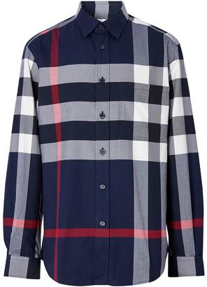 Burberry Check-Print Shirt