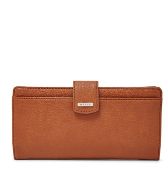 Fossil Relic by RFID-Blocking Checkbook Wallet