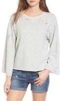 Women's Treasure&bond Destructed Sweatshirt