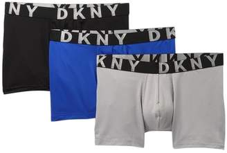DKNY Mesh Boxer Brief - Pack of 3