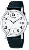 Lorus Gents Watch XL Analogue Quartz RG835CX9 Classic Leather
