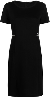 Liu Jo Short Dress With Gem Stones
