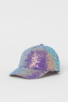 H&M Sequined cap