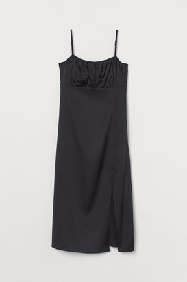 H&M Slit-front Dress