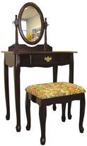 Home Decorators Collection 3-Piece Cherry Bedroom Vanity Set