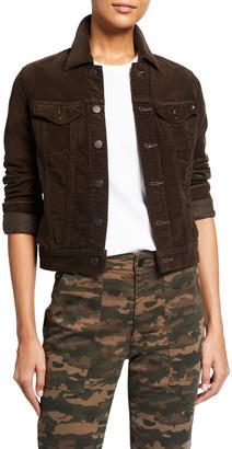 AG Jeans Robyn Corduroy Trucker Jacket