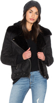 Dolce Vita Veronica Jacket With Faux Fur Lining