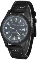 Hamilton H70575733 42mm Automatic Stainless Steel Case Black Calfskin Anti-Reflective Sapphire Men's Watch
