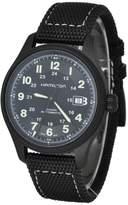 Hamilton H70575733 42mm Automatic Stainless Steel Case Calfskin Anti-Reflective Sapphire Men's Watch