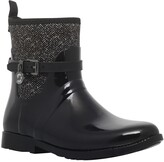 Thumbnail for your product : Michael Kors MICHAEL Charm Stretch Rainbooties, Black/White
