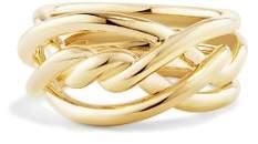 David Yurman Continuance Ring in 18K Gold, 11.5mm