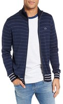 Lacoste Men's Stripe Zip Sweater