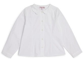 Trotters Scalloped Collar Blouse (2-12 Years)