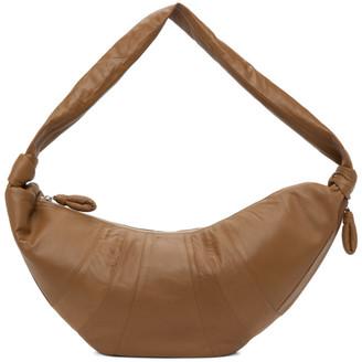 Lemaire SSENSE Exclusive Tan Large Croissant Bag