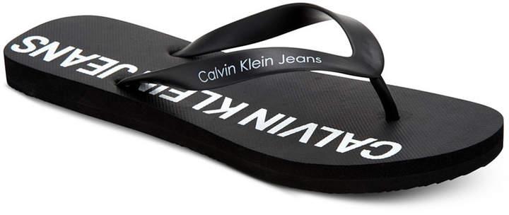 Calvin Klein Jeans Calvin Klein Men Errol Flip-Flop Sandals Men Shoes