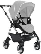 Silver Cross Wayfarer Pushchair With Seat Unit, Carrycot And Chrome Chassis