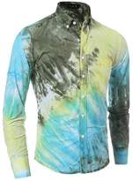Deer Gary New Men's High Quality Casual Slim Long Sleeve Shirts