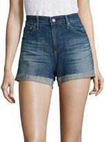 AG Jeans Hailey Slouchy Cuffed Denim Shorts