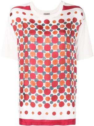 Bottega Veneta printed round neck T-shirt