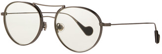 Moncler Round Metal Optical Frames