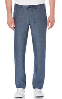 Perry Ellis Linen Drawstring Pant