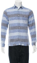 Commune De Paris Trinquet Linen Shirt