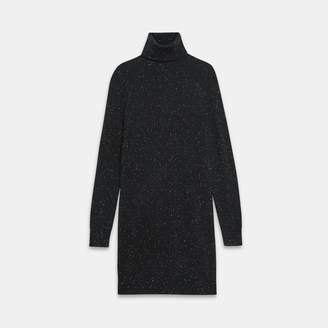 Theory Donegal Cashmere Turtleneck Sweater Dress