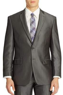 Calvin Klein Two-Button Long Sleeve Jacket
