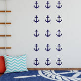 Nutmeg Anchor Decorative Wall Stickers