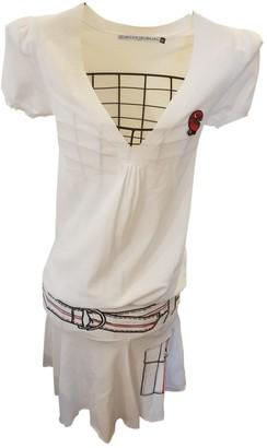 JC de CASTELBAJAC White Viscose Dresses