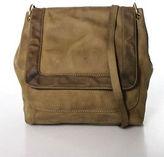 J.Crew J Crew Brown Leather Magnet Closure 6 Pocket One Strap Messenger Handbag