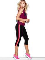 PINK Flat Waist Yoga Crop Leggings