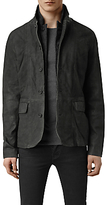 Allsaints Allsaints Survey Leather Blazer Jacket
