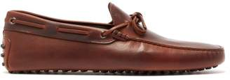 Tod's Gommino Leather Driving Shoes - Mens - Brown