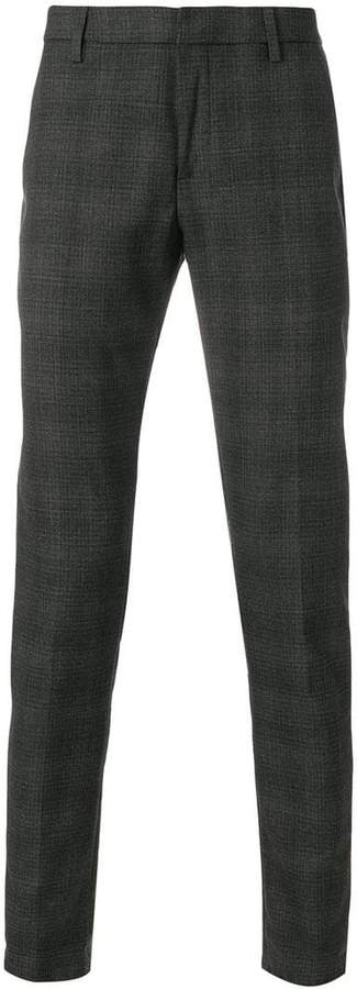 Dondup straight-leg checked trousers