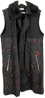 Dries Van Noten Black Wool Jackets