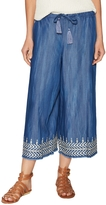 Plenty by Tracy Reese Women's Embroidered Drawstring Culottes